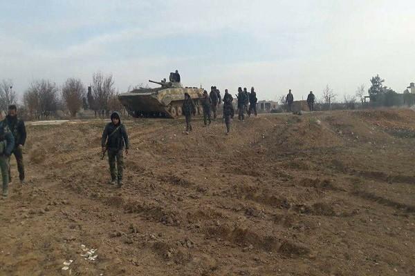 Phien quan than Tho Nhi Ky tan sat binh si Syria tren chien truong Latakia