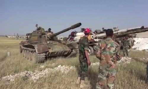 Quan doi Syria giai phong thi tran chien luoc tai Idlib