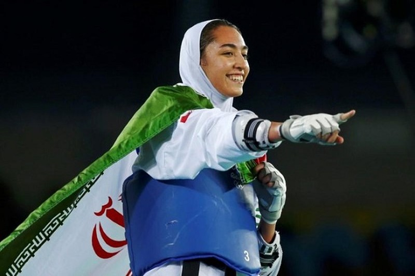 "Nu VDV Iran duy nhat doat huy chuong Olympic ""dao tau"" sang Duc"