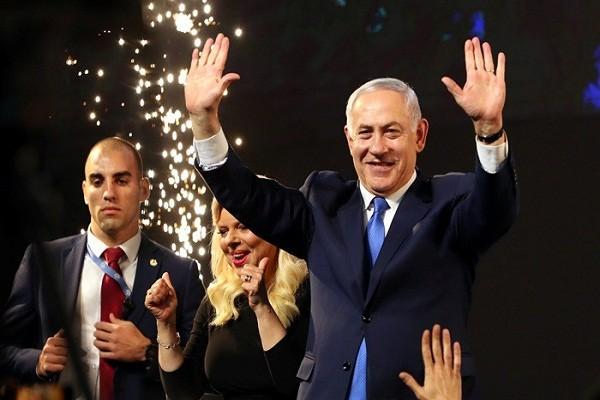 Thu tuong Israel Netanyahu tuyen bo chien thang trong bau cu Quoc hoi