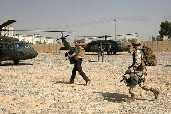 Can cu co binh si My don tru tai Iraq lai bi tan cong