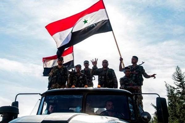 Quan doi Syria dap tan cuoc tan cong cua khung bo tai Idlib, Aleppo