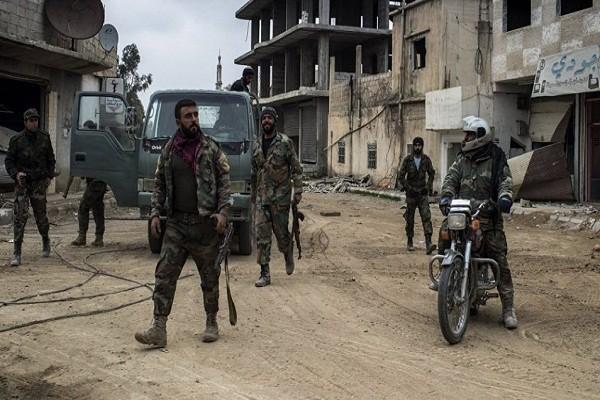 Hang chuc binh si Syria thiet mang trong vu tan cong chet choc