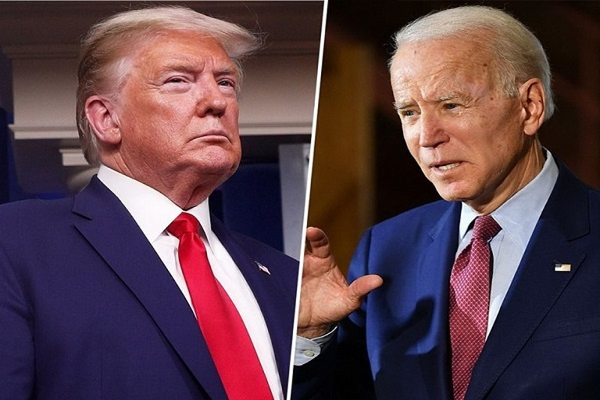 Ong Biden dan truoc ong Trump 14 diem trong cuoc khao sat cua CNN
