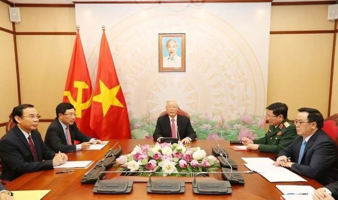 Tong thong Putin cam on Viet Nam ho tro trong cuoc chien chong COVID-19-Hinh-2