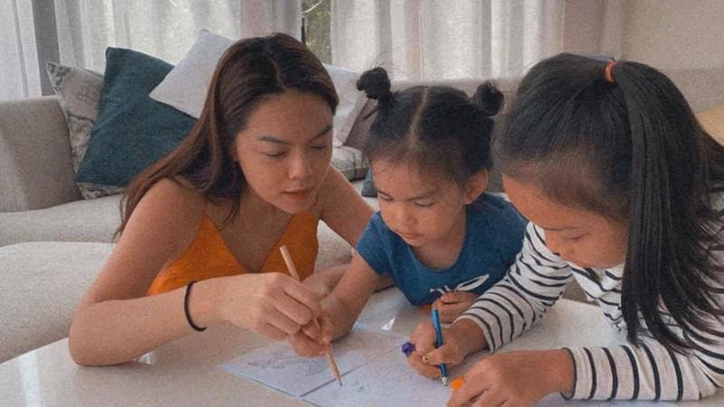 2 my nhan V-biz ten Quynh Anh lam single mom-Hinh-3