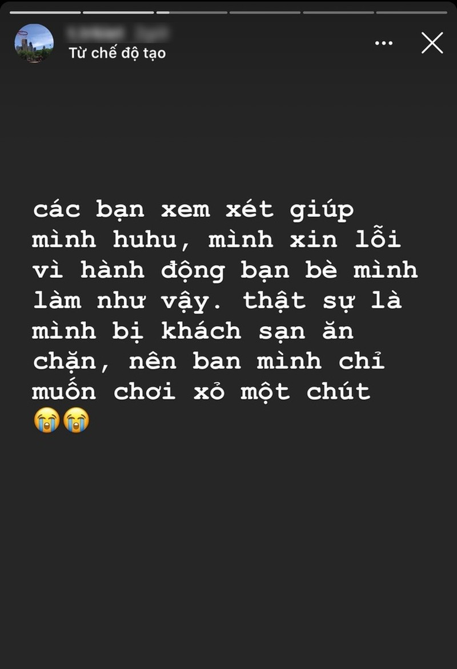 Nhom khach xa rac Vung Tau xin loi vi hanh dong thieu suy nghi
