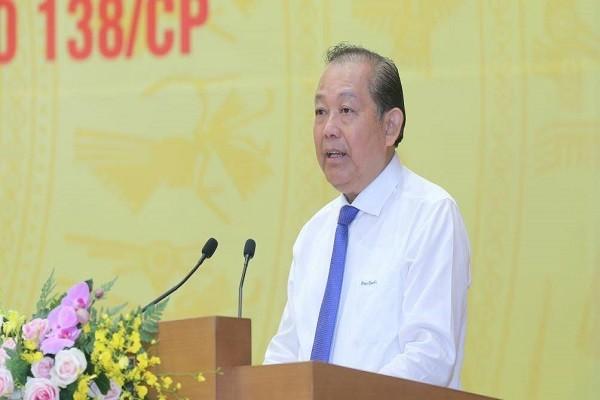 Pho Thu tuong: Mot bo phan can bo tha hoa tiep tay cho toi pham