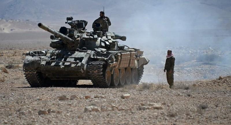 Quan doi Syria oanh kich du doi nhom khung bo tren nhieu mat tran