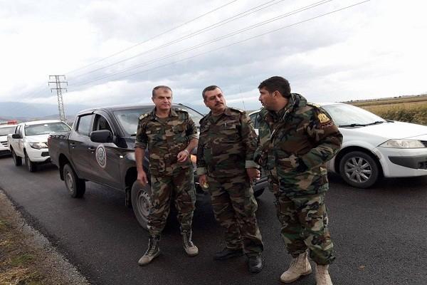 """Syria phat hien, tich thu lo vu khi """"tuon"""" cho khung bo o Idlib"""