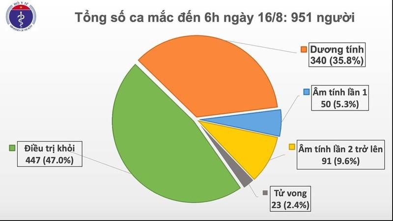 1 nguoi tu Guinea Xich dao ve mac COVID-19, Viet Nam co 951 benh nhan-Hinh-2