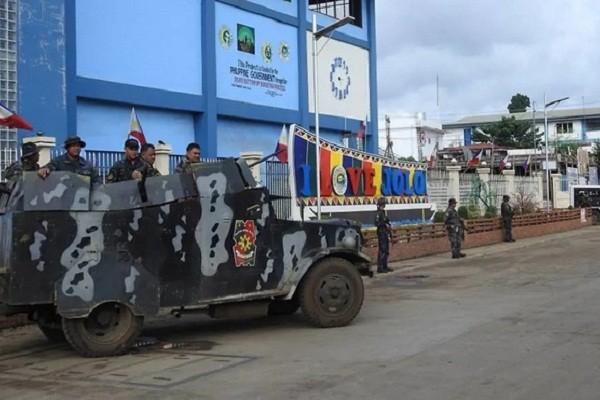 Danh bom o Philippines, 9 nguoi thiet mang