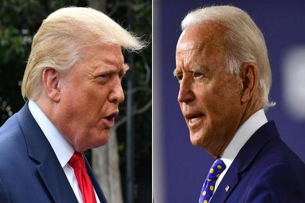 Bau cu My 2020: Tong thong Trump dang dan truoc ong Biden?
