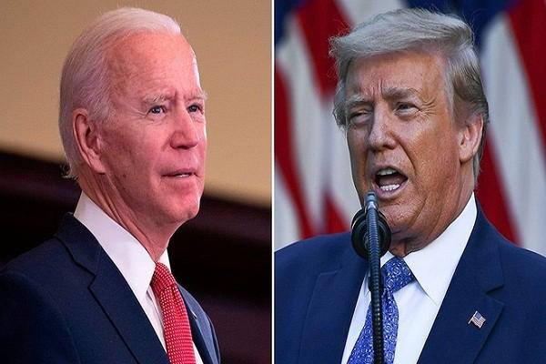 Reuters: Ong Biden dan truoc Tong thong Trump o hai bang chu chot
