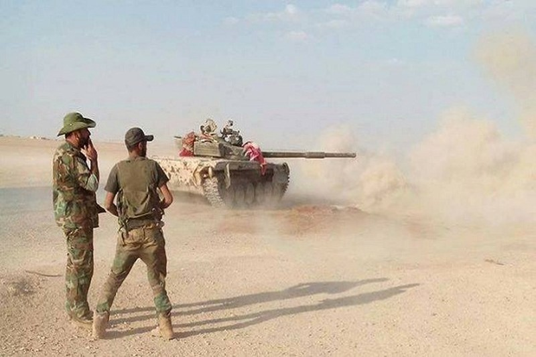 Quan doi Syria cong pha thanh tri cua khung bo tai Latakia