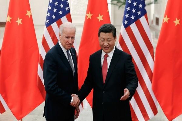 Chu tich Trung Quoc Tap Can Binh gui dien chuc mung ong Joe Biden