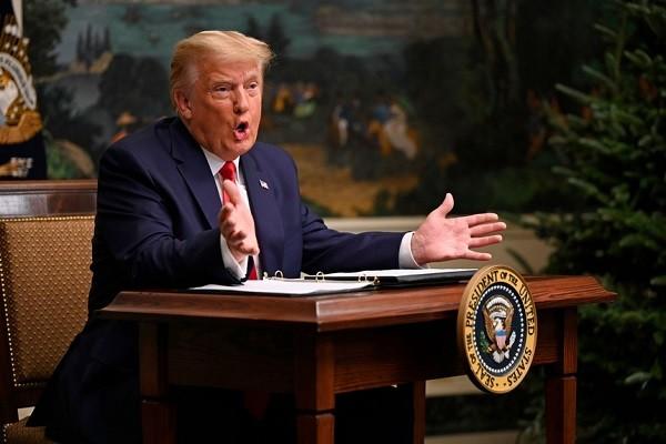 Ong Trump se tuyen bo tai tranh cu cung ngay ong Biden nham chuc?
