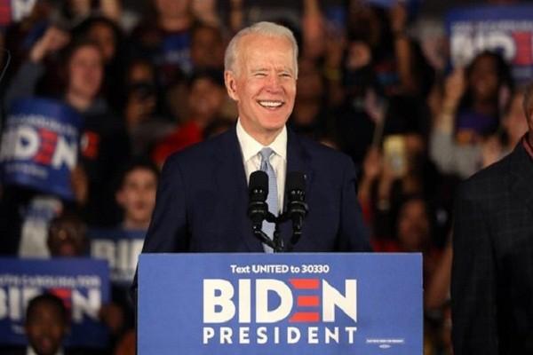 Lanh dao cap cao Viet Nam gui dien chuc mung ong Joe Biden
