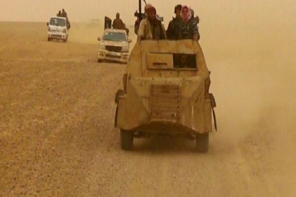Khung bo IS phuc kich, tan sat dan thuong va binh si Syria