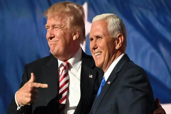 Dang sau su ran nut cua hai ong Trump - Pence