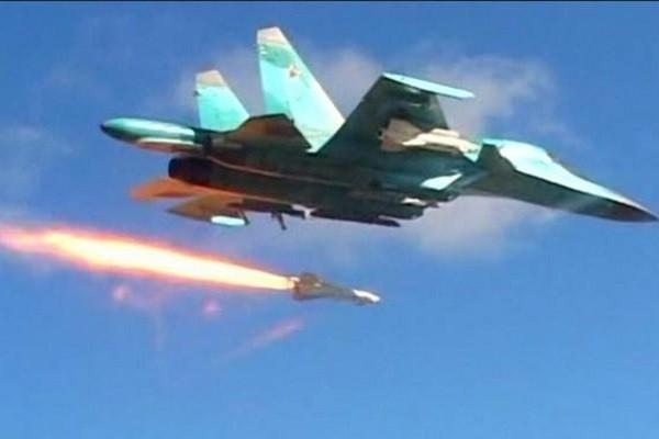 Chien dau co Nga o at khong kich khung bo IS tai Syria