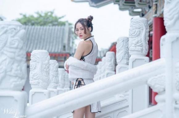 Co gai dien suon xam pho da thit giua Tu Cam Thanh-Hinh-2
