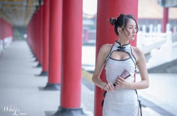 Co gai dien suon xam pho da thit giua Tu Cam Thanh