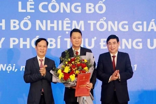 "Ghe ""nong"" Tong giam doc BIDV chinh thuc co chu"