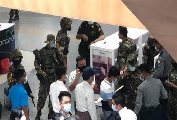 Myanmar: Hang loat vu no lam rung chuyen thanh pho Yangon