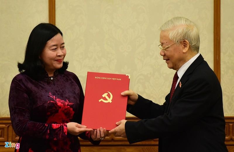 Ba Truong Thi Mai duoc phan cong giu chuc Truong ban To chuc Trung uong-Hinh-2