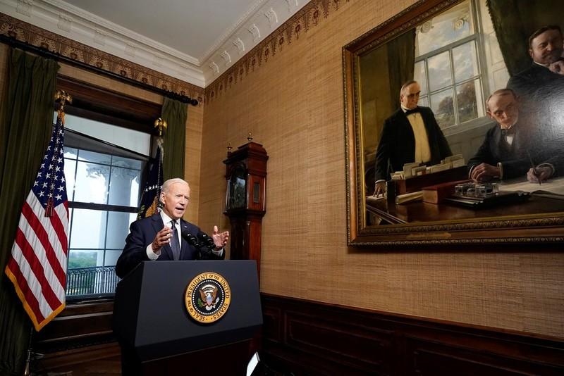 Tong thong Biden khoc sau khi thong bao rut quan khoi Afghanistan-Hinh-3