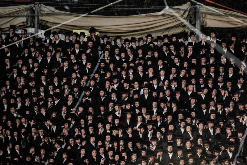 Giam dap tham khoc trong le hoi Israel, hang chuc nguoi chet-Hinh-2