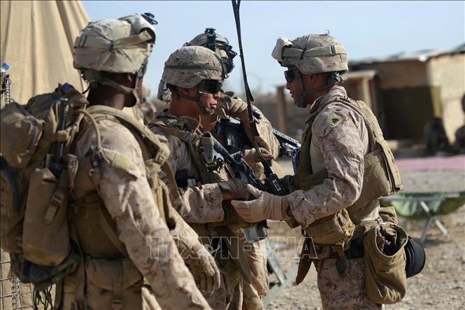 Quan doi My khong kich nham ho tro luc luong Afghanistan chong Taliban