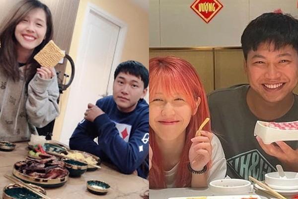 "Hau Hoang ra mat ""dua con tinh than"", hanh dong Mui truong Long gay xon xao-Hinh-2"