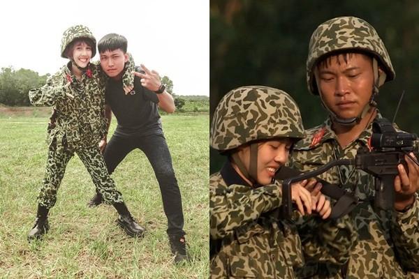 "Hau Hoang ra mat ""dua con tinh than"", hanh dong Mui truong Long gay xon xao-Hinh-3"