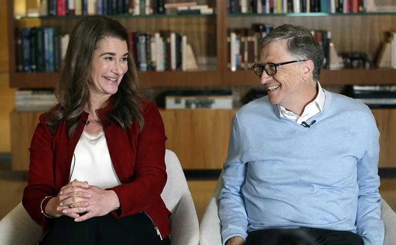 Khoanh khac hanh phuc cua Bill Gates va vo cu truoc khi ly hon-Hinh-2