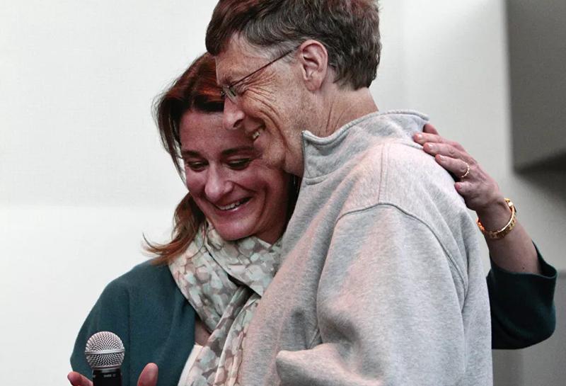 Khoanh khac hanh phuc cua Bill Gates va vo cu truoc khi ly hon-Hinh-8