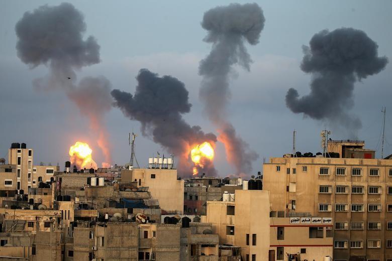 Can canh Dai Gaza tan hoang sau don khong kich cua Israel-Hinh-6