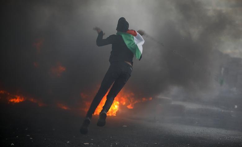 Bieu tinh du doi bung phat o Bo Tay giua xung dot Israel - Palestine-Hinh-11