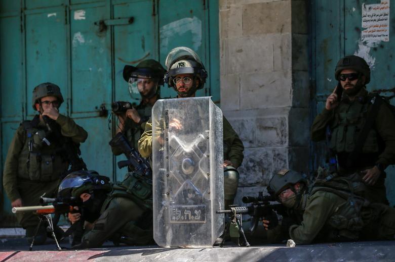 Bieu tinh du doi bung phat o Bo Tay giua xung dot Israel - Palestine-Hinh-3
