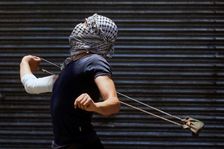 Bieu tinh du doi bung phat o Bo Tay giua xung dot Israel - Palestine-Hinh-5