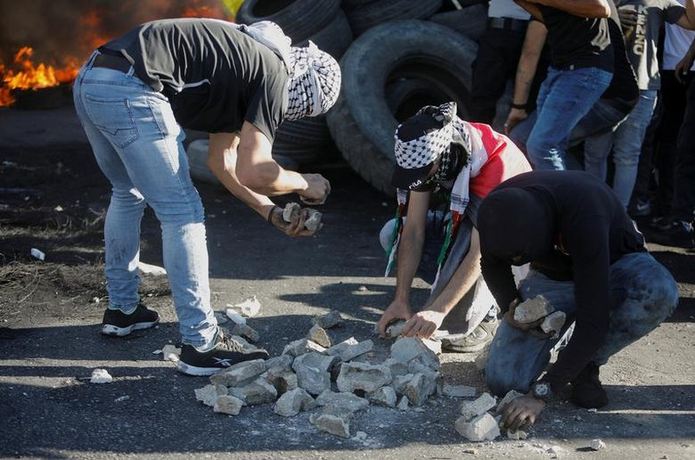 Bieu tinh du doi bung phat o Bo Tay giua xung dot Israel - Palestine-Hinh-7