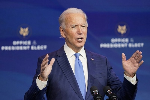 Tong thong My Joe Biden chi dinh Dac phai vien ve Trieu Tien