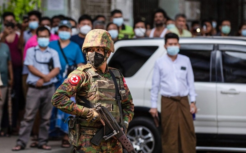 "Dai hoi dong Lien Hop Quoc ra nghi quyet ve Myanmar, canh bao ""noi chien"""