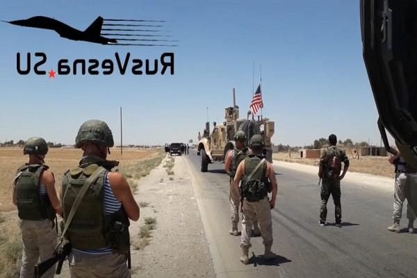 Bi Nga chan, doan xe quan su My quay dau giua duong tai Syria