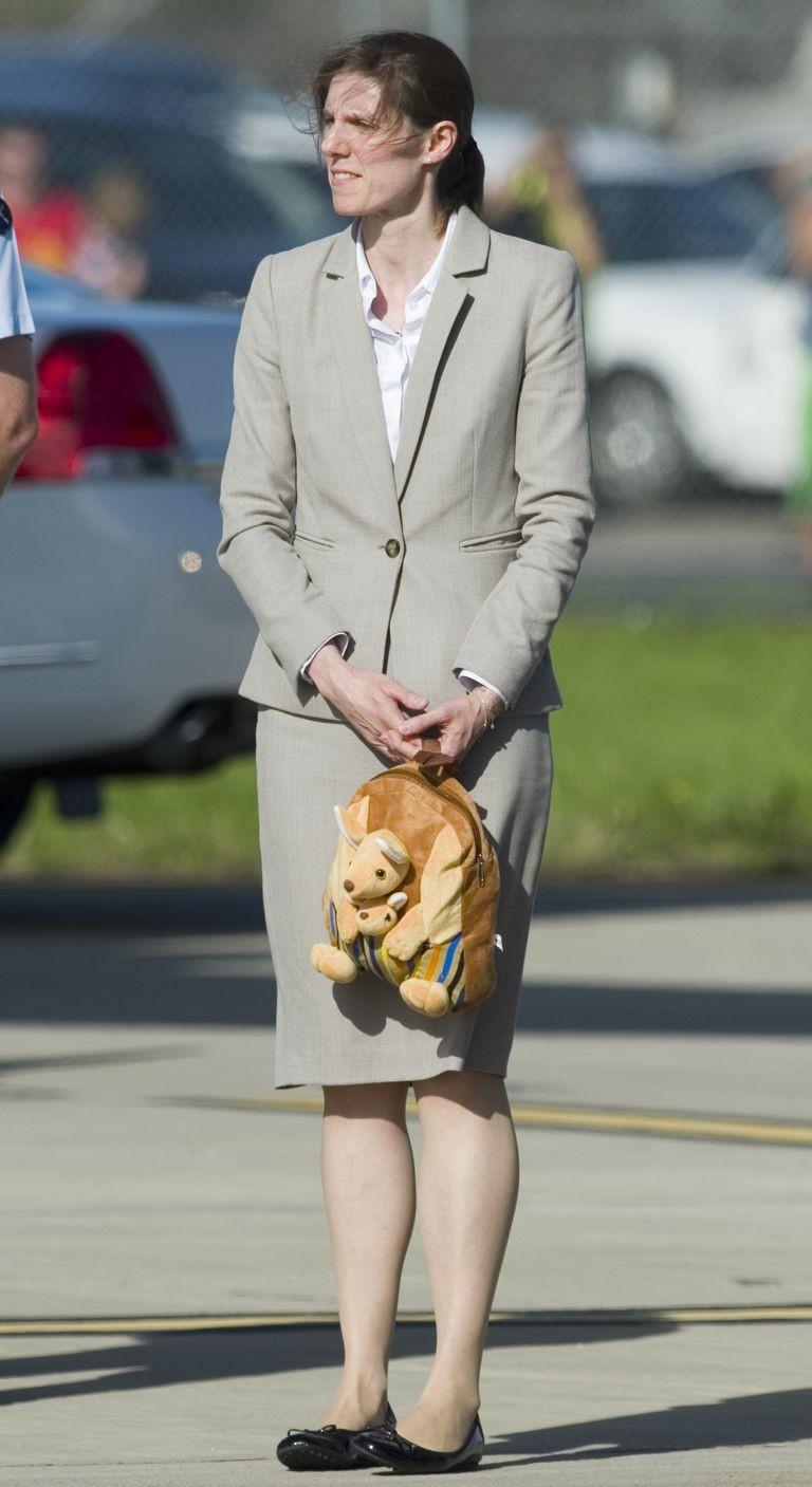 Dieu it biet ve bao mau nha Cong nuong Kate Middleton