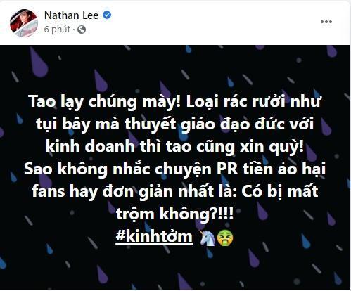 """Nathan Lee kinh tom ke """"thuyet giao kinh doanh"""", nguoi do la ai?"""