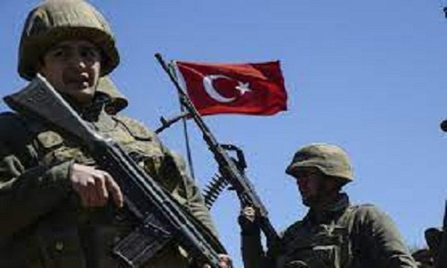 Tho Nhi Ky oanh kich du doi luc luong nguoi Kurd tai Syria