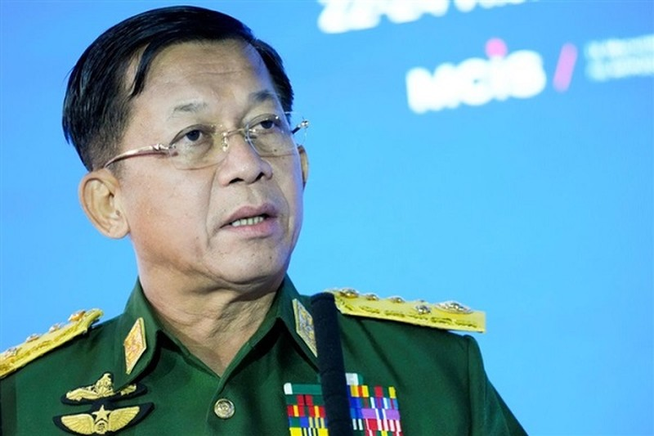 Thong tuong Myanmar Min Aung Hlaing lam Thu tuong