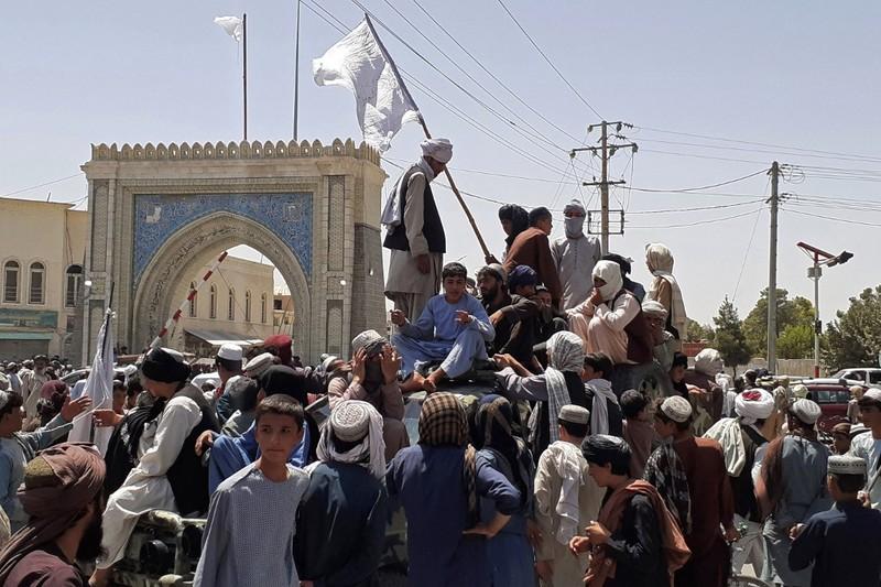 Luc luong Taliban ap sat thu do Afghanistan